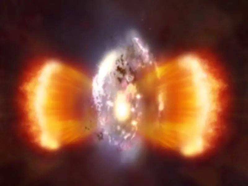 Catastrophic Event Behind Halt Of Star Birth Tfot