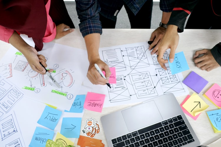8 steps to face a VUCA environment with Design Thinking