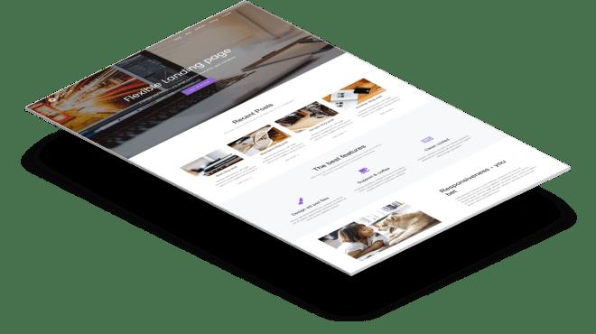 Flexible | Бесплатный Bootstrap шаблон