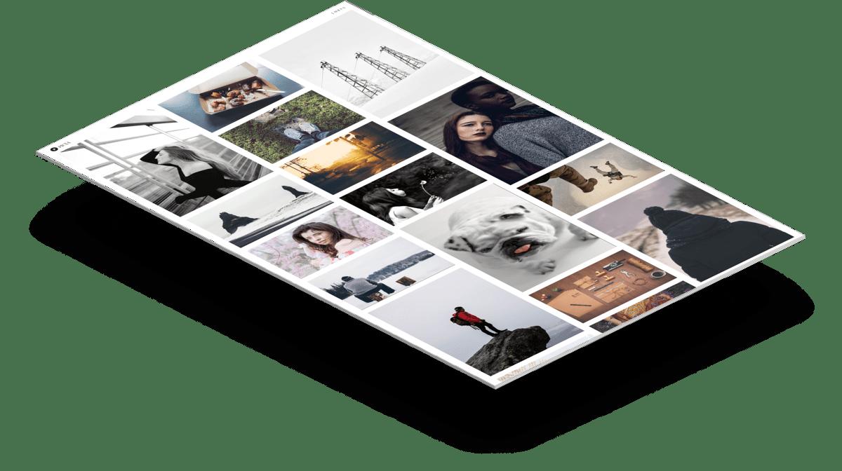 Picxa   Бесплатный HTML5 шаблон портфолио фотографа