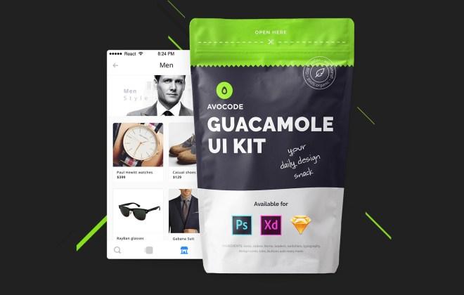Guacamole Free UI Kit