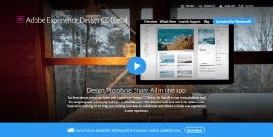 Инструмент прототипирования от Adobe вышел для Windows