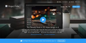 Project Felix, ПО для создания 2D и 3D композиций от Adobe, одновременно выпустили для Mac и Windows