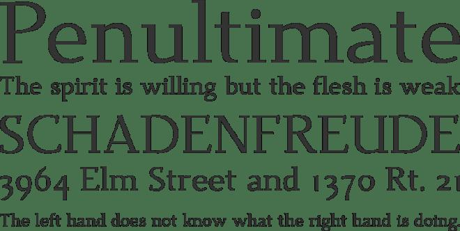 Dehuti бесплатный шрифт от T. Christopher White