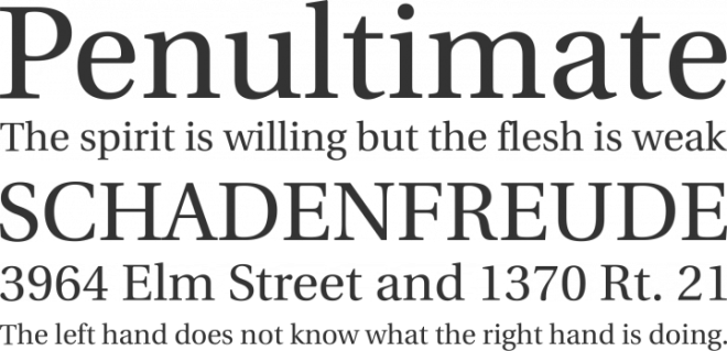 Heuristica бесплатный шрифт от Andrej Panov