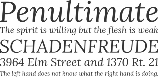 Lora бесплатный шрифт от Cyreal