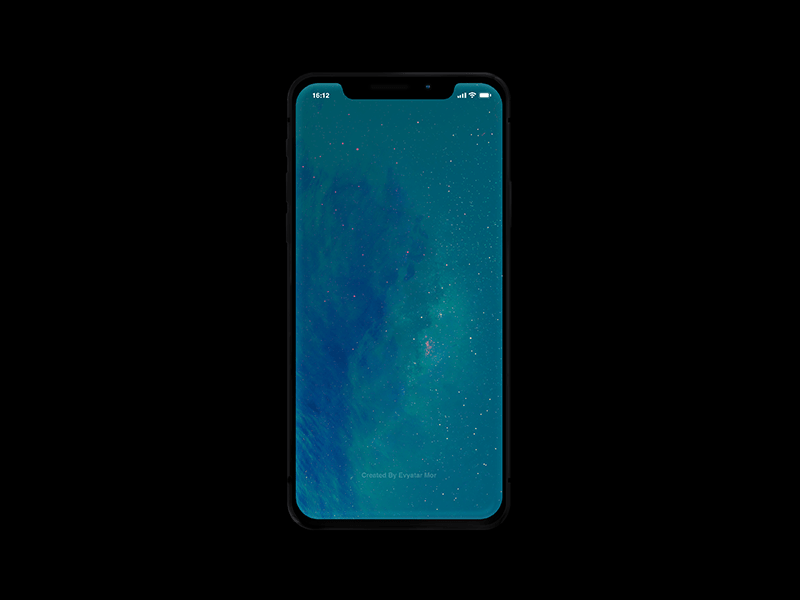 Бесплатный PSD мокап IPhone X