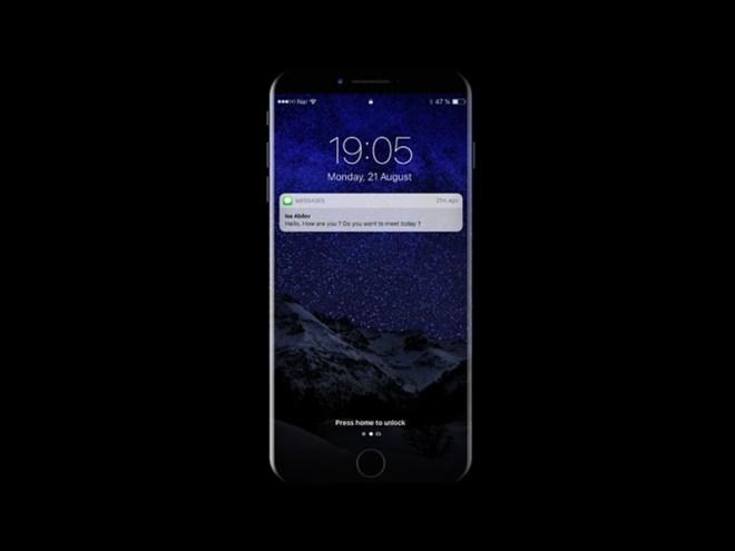 Макет iPhone 8 для UI дизайна в PSD формате