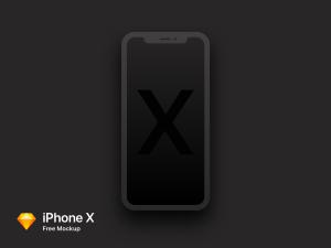 Халявный Mockup iPhone X для Sketch App