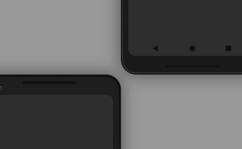 📱 13 Бесплатных мокапов Google Pixel 2 и Pixel 2 XL для Sketch, PS, XD и AI