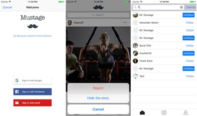 Instagram App iOS Template + Web (Photo&Video)