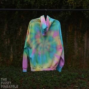 XL Rainbow Swirl Hoodie RTS