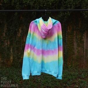 2XL Rainbow Stripe Hoodie RTS