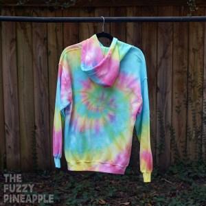 M – Rainbow Swirl Hoodie RTS