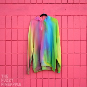 4xl – Color Wheel Rainbow Hoodie RTS