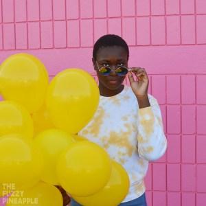 Buttered Popcorn Yellow Crew Neck Sweatshirt