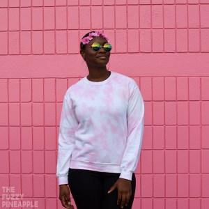 Pastel Bubblegum Pink Crew Neck Sweatshirt