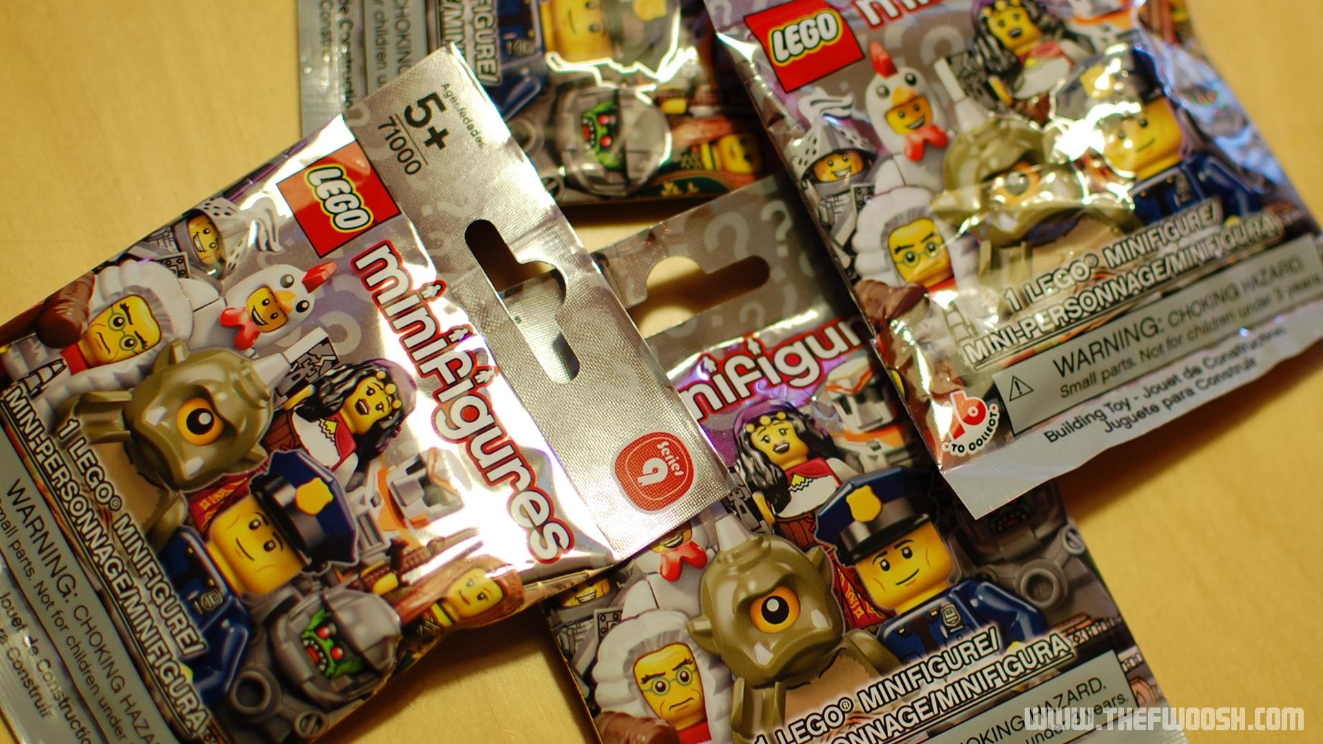 Blind Bag Lego Mini Figures Series 9 Quick Pics