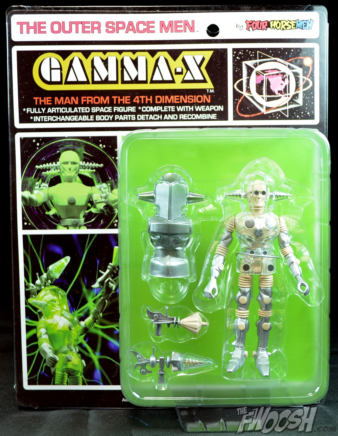 Outer Space Men Osm Gamma X Review Carded Fwoosh