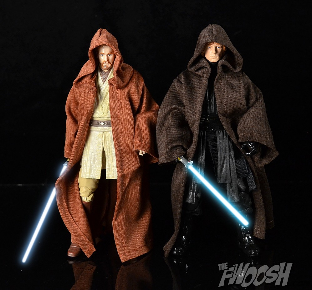 cloak Only, Figure Is Not For Sale Star Wars Custom Jedi Luke Black Cloak