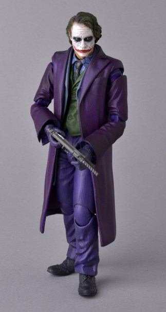 Medicom MAFEX The Dark Knight Joker Weapons 1