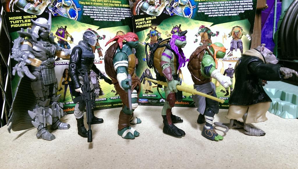 Playmates Teenage Mutant Ninja Turtles 2014 Loose Pics And