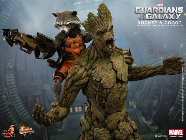 Hot Toys Guardians of the Galaxy Groot and Rocket 3