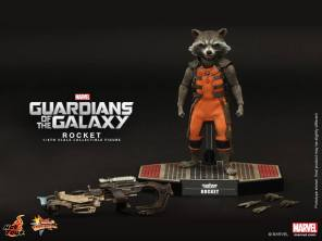Hot Toys Guardians of the Galaxy Rocket Raccoon 10