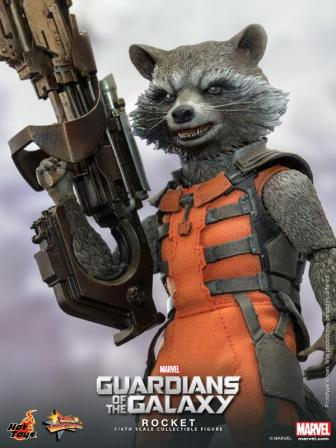 Hot Toys Guardians of the Galaxy Rocket Raccoon 6