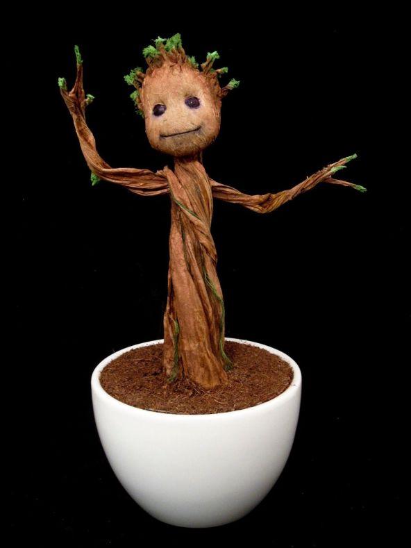 I Am Groot Figures Customs And Dancing Twigs