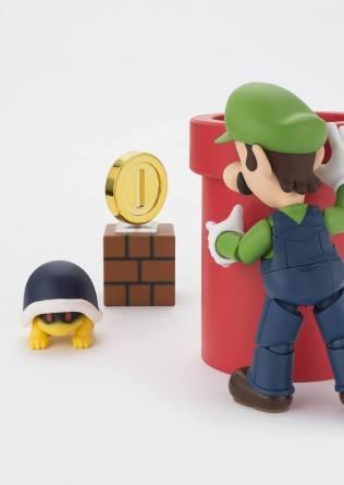 Bandai S.H. Figuarts Luigi Big 1