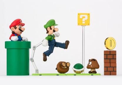 Bandai S.H. Figuarts Luigi Big 10