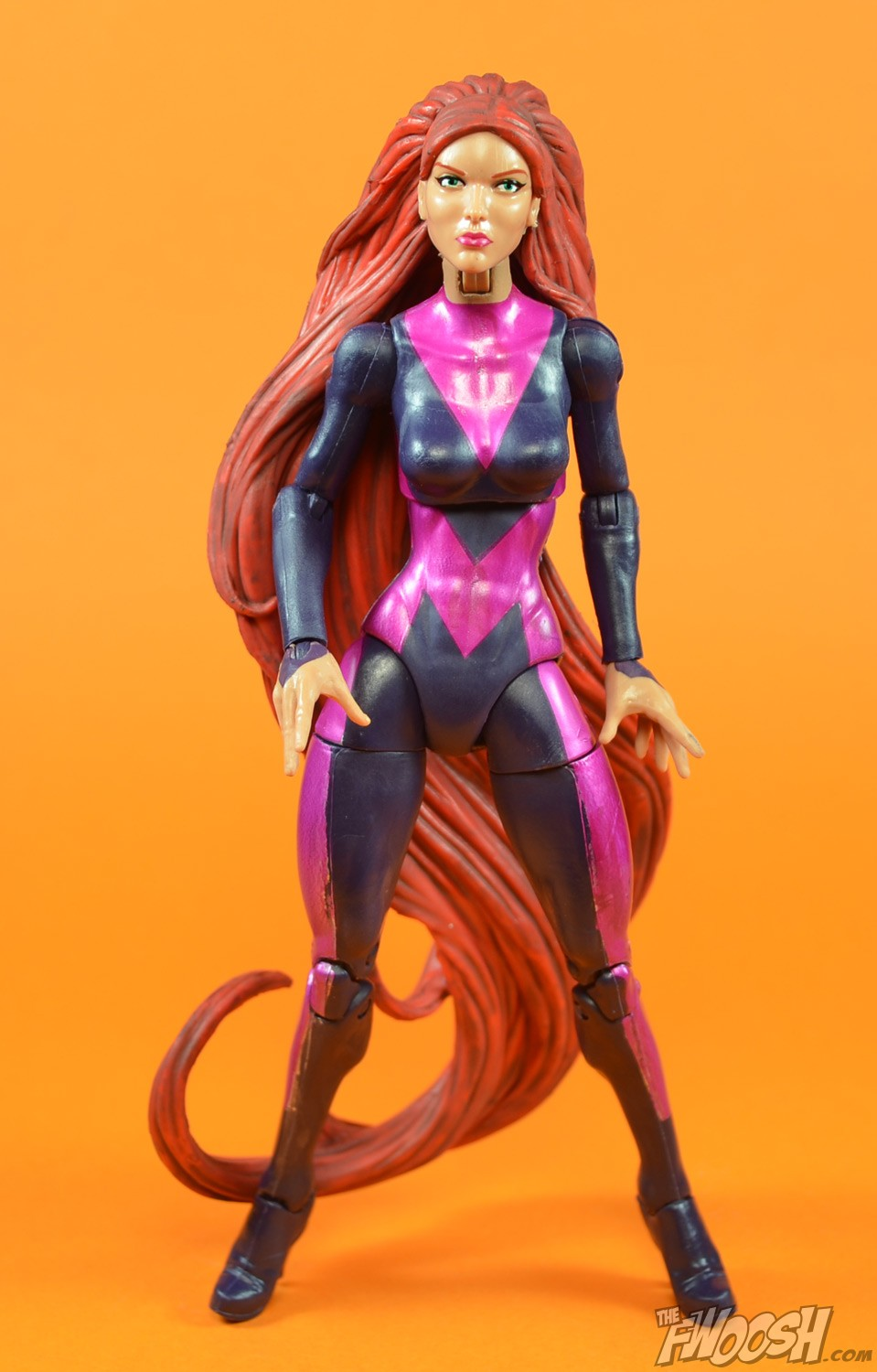 Crystal Marvel Costume Her modern costume is a nice