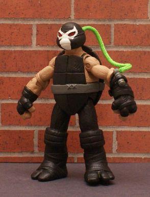 TMNT BATMAN Custom 5 Figure BANE, JOKER, HARLEY, ROBIN, You pick LOOK!! 3