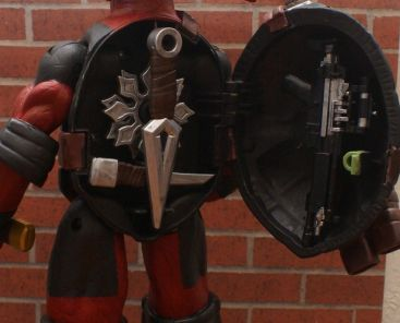 TMNT Battle Shell DEADPOOL Custom 10 Figure RED OR GREY SUIT - YOU PICK 1