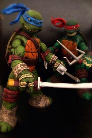 Teenage Mutant Ninja Turtles Custom Battle Shell TMNT 12 Set Sale 1