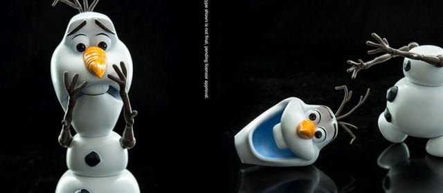 Hero 86 Hybrid Metal Figuration 018 Olaf Frozen Featured
