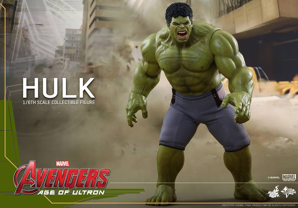hot toys the avengers age of ultron hulk