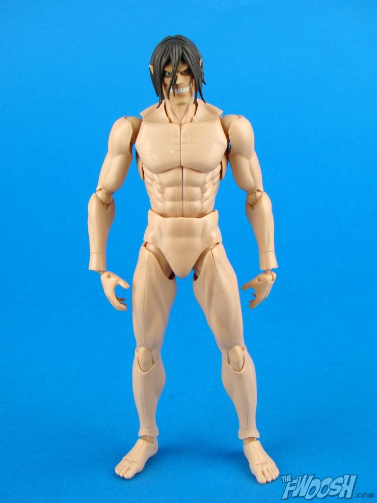 Kotobukiya Eren Yeager Titan Model Kit The Fwoosh