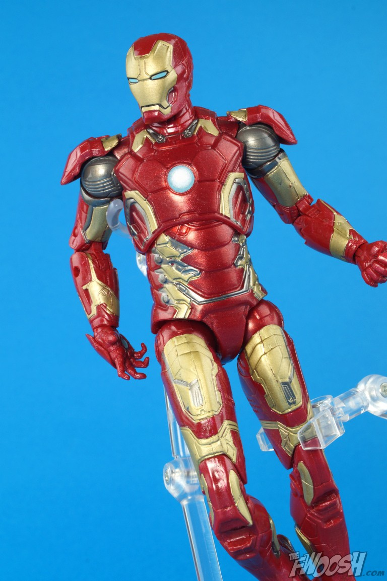 marvel legends iron man mk 43 review the fwoosh. Black Bedroom Furniture Sets. Home Design Ideas