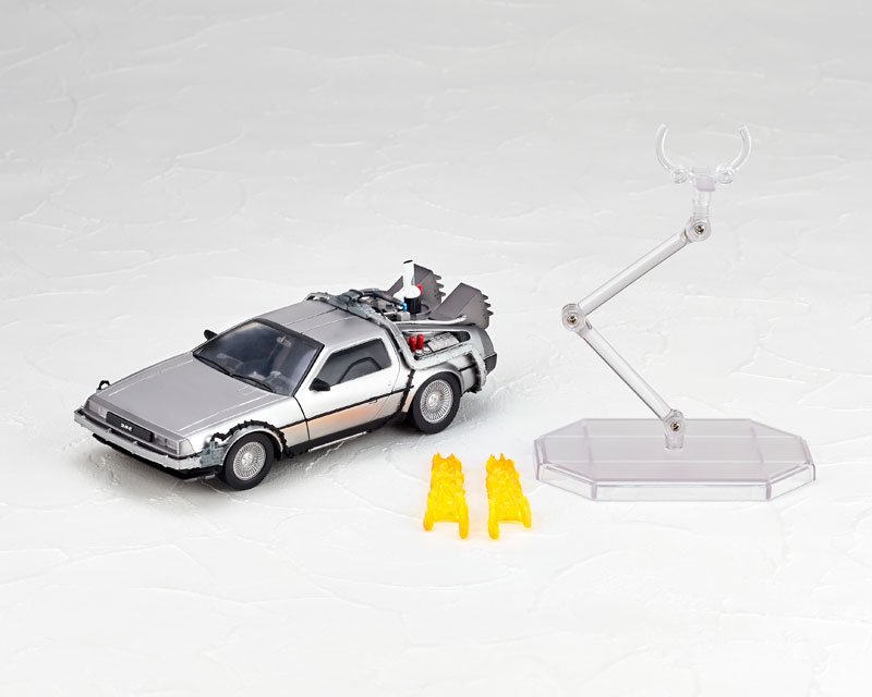 Revoltech Back To The Future Deloreon Articulated Action Figure