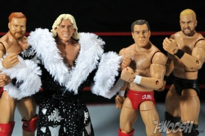 Four Horsemen figure review - Arn, Flair, Tully and Windham