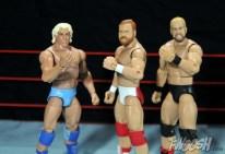 Four Horsemen figure review - Flair, Arn and Barry