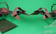 Bandai Star Wars 6 Inch Plastic Model Kit Speeder Bike Comparison 2