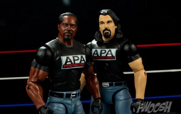 WWE Mattel APA -Farooq and Bradshaw APA