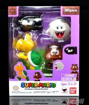 SH-Figuarts-Bandai-Super-Mario-Playset-D-Review-Carded