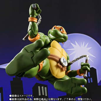 Bandai Tamashii Nation SH Figuarts Teenage Mutant Ninja Turtles Promo Michelangelo 4