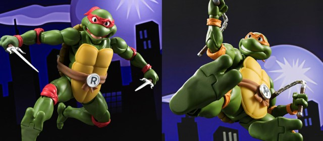 Bandai Tamashii Nation SH Figuarts Teenage Mutant Ninja Turtles Promo Michelangelo Raphael Featured