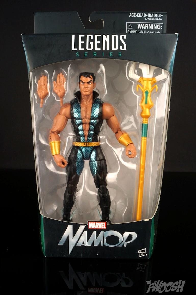 Hasbro Marvel Legends Walgreen Exclusive Captain America Civil War Namor 6 INCH