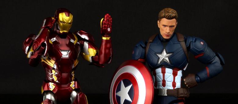 Bandai S H Figuarts Iron Man Mark 46 The Fwoosh